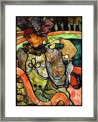 At The New Circus, Papa Chrysanthemum Framed Print