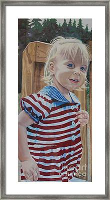 At The Park Framed Print by Terri Thompson