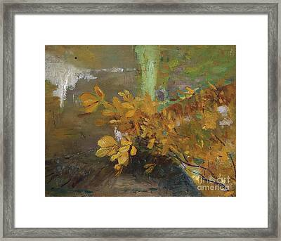 At The Park Wall Framed Print by Celestial Images