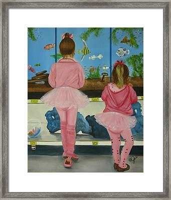 At The Pet Store Framed Print by Joni McPherson