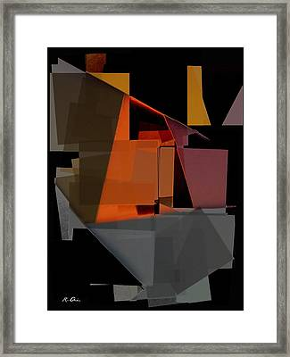 At The Plaza Framed Print by Rene Avalos