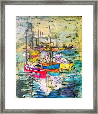 At The Ready Framed Print by Jennifer Raby