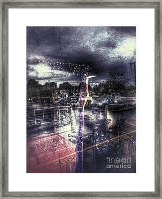 At The Sound Of Night Framed Print by Steven Digman