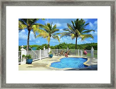 At The St. Thomas Hotel Framed Print by Peter Parker