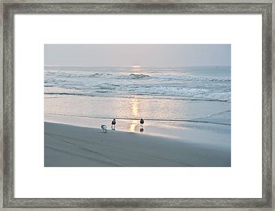 At The Start Of The Day Framed Print