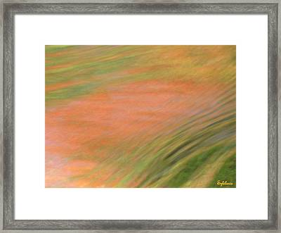 At The Subtle Feeling Level Framed Print