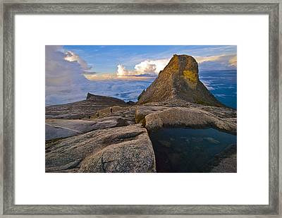 At The Summit Framed Print by Ng Hock How
