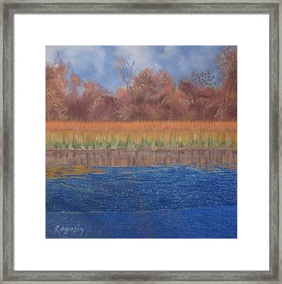 At The Water's Edge Framed Print by Harvey Rogosin