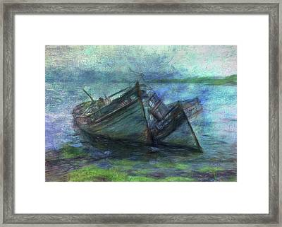 At The Water's Edge Framed Print by Sarah Vernon