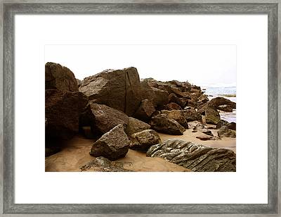 At Waters Edge Framed Print by Brenda Myers