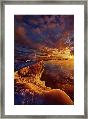 Framed Print featuring the photograph At World's End by Phil Koch