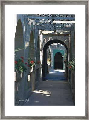 Atalaya Framed Print by Suzanne Gaff
