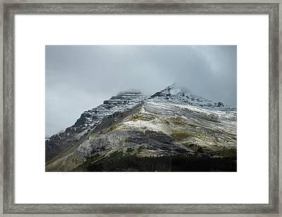 Athabasca Glacier No. 3-1 Framed Print