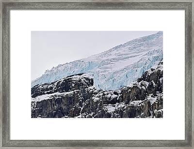 Athabasca Glacier No. 80-1 Framed Print