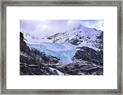 Athabasca Glacier No. 9-1 Framed Print