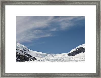 Athabasca Glacier Vista Framed Print