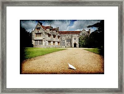 Athelhamptom Manor House Framed Print
