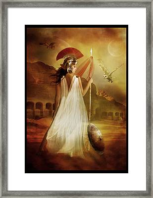 Athena Framed Print by Mary Hood