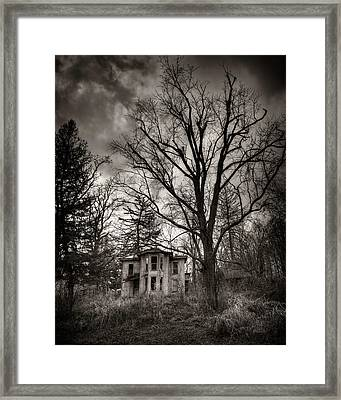 Athens Ghost Framed Print