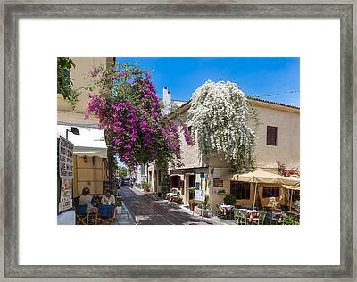 Athens / Greece Framed Print