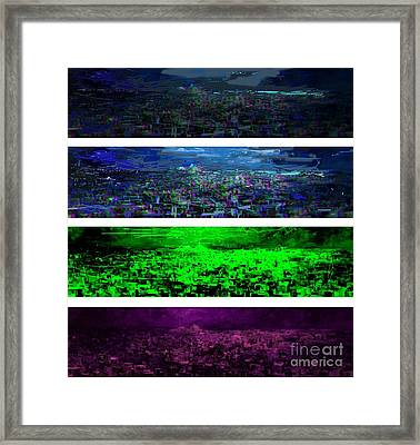Athens Is Dreaming  0001 Framed Print by Jelena Ignjatovic