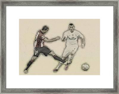 Athletic Club  Vs Real Madrid Framed Print