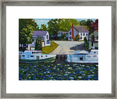 Atigamayg And Evalina Framed Print by Phil Chadwick