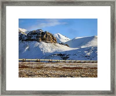 Atigun Pass Framed Print by Adam Owen