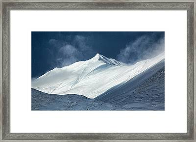 Framed Print featuring the photograph Atigun Pass In Brooks Range by Cheryl Strahl