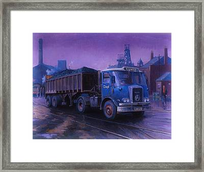 Atkinson Bulk Coal Tipper Framed Print by Mike  Jeffries