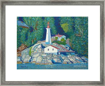 Atkinson Point Lighthouse Framed Print