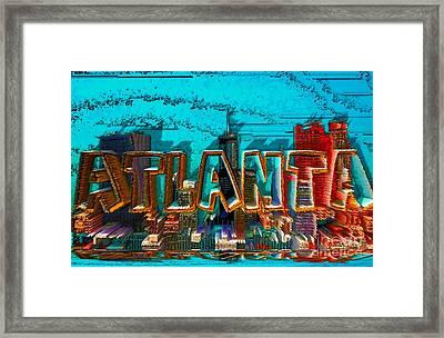 Atlanta 2016 By Nico Bielow Framed Print by Nico Bielow
