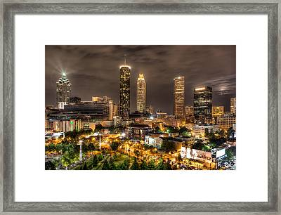 Atlanta Framed Print by Anna Rumiantseva