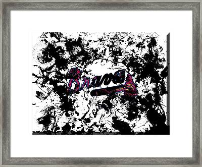 Atlanta Braves B1 Framed Print