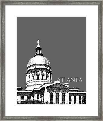 Atlanta Capital Framed Print by DB Artist