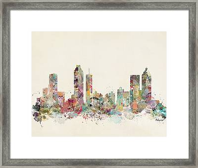 Atlanta City Framed Print