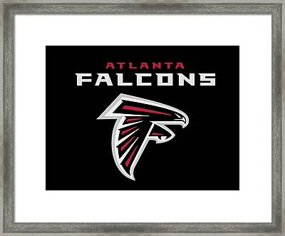 Atlanta Falcons 6 Framed Print by Reid Callaway