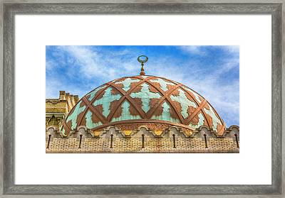 Atlanta Fox Theatre Dome Framed Print by Stephen Stookey