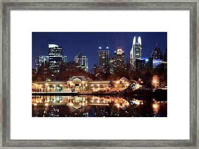 Atlanta From Piedmont Park 2 Framed Print