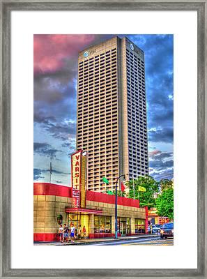 Atlanta Landmark 2 The Varsity Art Framed Print