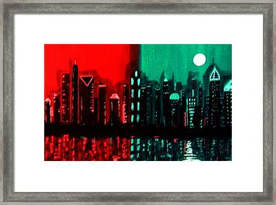 Atlanta Framed Print by Linda Powell