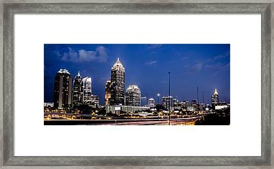 Atlanta Midtown Framed Print