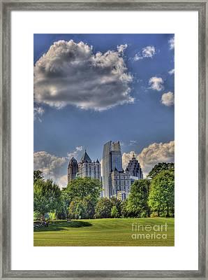 Atlanta Piedmont Park View Framed Print by Corky Willis Atlanta Photography