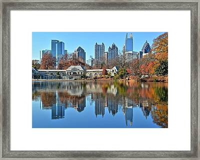 Atlanta Reflected Framed Print