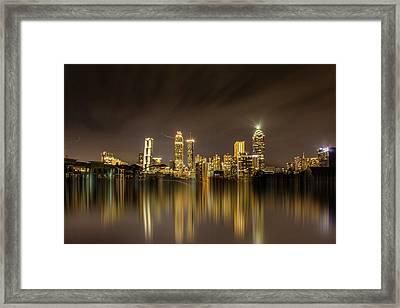 Atlanta Reflection Framed Print