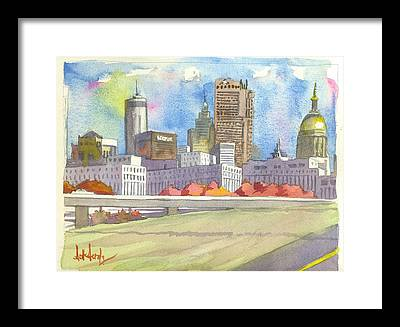Cities Framed Prints
