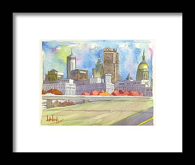 City Framed Prints