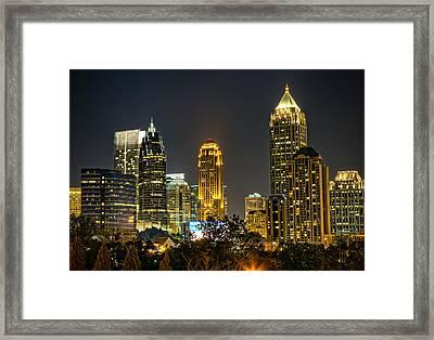 Atlanta Skyscrapers  Framed Print