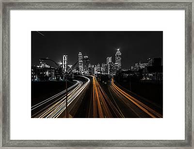 Atlanta Tones Framed Print