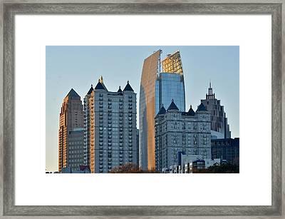 Atlanta Towers Framed Print